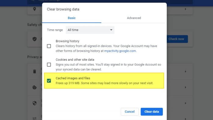 cached - 7 Tips to Make Chrome Faster and Consume Less Memory 13