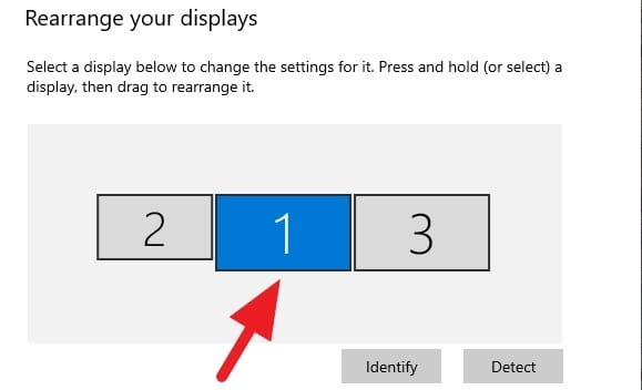 Display 1 - How to Quickly Turn Off Second Monitor When Gaming 3