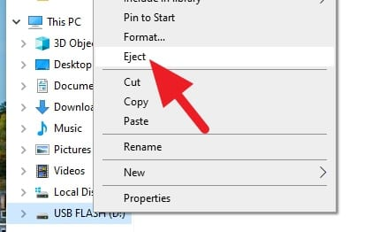 Eject - How to Transfer Photos from Email to USB Stick 19