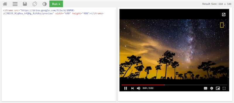 Embeded Google Drive video - How to Embed Video from Google Drive 15