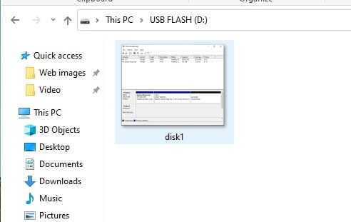 Picture in USB flash - How to Transfer Photos from Email to USB Stick 17