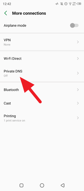 Private DNS - How to Enable Private DNS 1.1.1.1 on Android 7