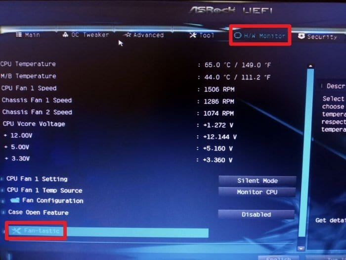 Fan tastic - How to Fix Case Fans Speed Doesn't Adjust Automatically 7