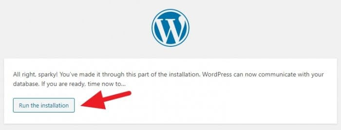 Run the installation - How to Install WordPress Subdirectory on Cloudways 45