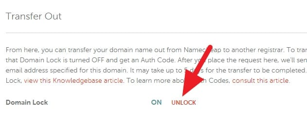Unlock - How to Get EPP Code on Namecheap to Transfer Domain 11