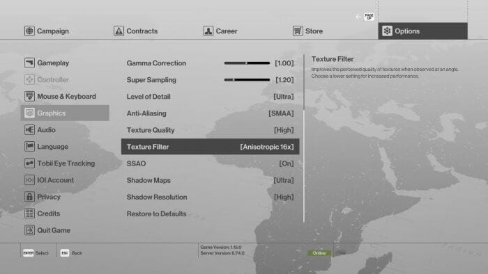 Graphics Setting Hitman - 5 Tips to Fix FPS Drop That Plagued When Playing PC Games 5