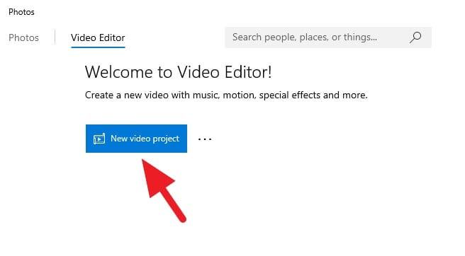 Video Editor 1 - How to Rotate a Video in Windows 10 Video Editor 7