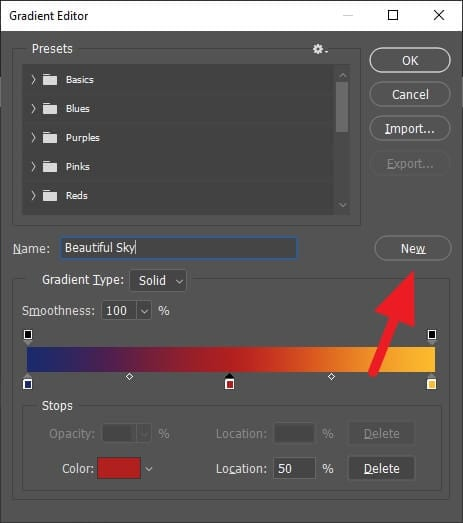 New - How to Make Gradient More Than Two Colors in Photoshop 15