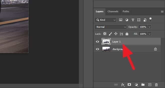 layer 1 - How to Create Border/Outline Around Image in Photoshop 17