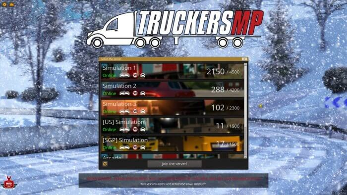 ETS2 Online select server - How to Play Euro Truck Simulator 2 Multiplayer with TruckersMP 23