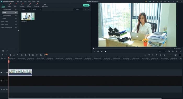 Import video - How to Easily Blur / Censor Moving Face on Filmora PC 7
