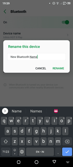 Rename - How to Change Your Android Bluetooth Name 13