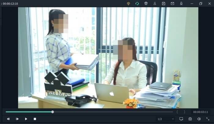 pixelated faces - How to Easily Blur / Censor Moving Face on Filmora PC 33