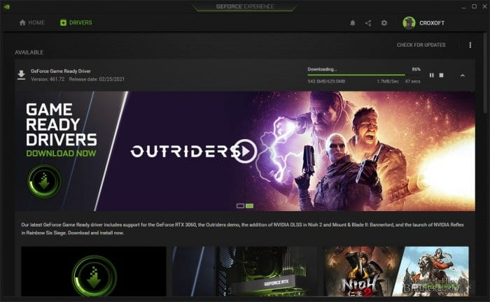 Downloading driver - How to Update Nvidia Driver for Better Gaming Performance 11