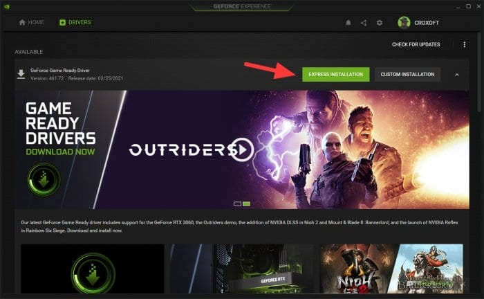 Express installation - How to Update Nvidia Driver for Better Gaming Performance 13