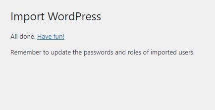 have fun - How to Import WordPress Posts with Featured Images & Attachments 19