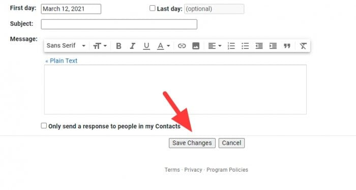 save changes 1 - How to Enable 'Unsend' Email from Your Gmail Account 11