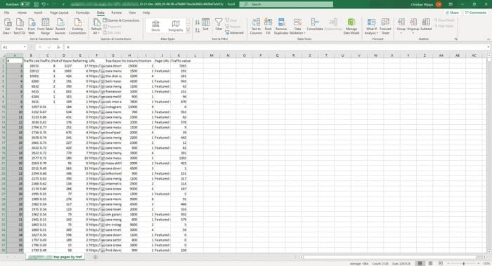 separated - How to Convert Comma-Separated Text Into Rows in Ms. Excel 15