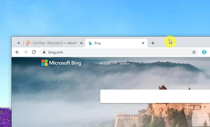 title bar - How to Split Screen on Windows 10 to Improve Productivity 5