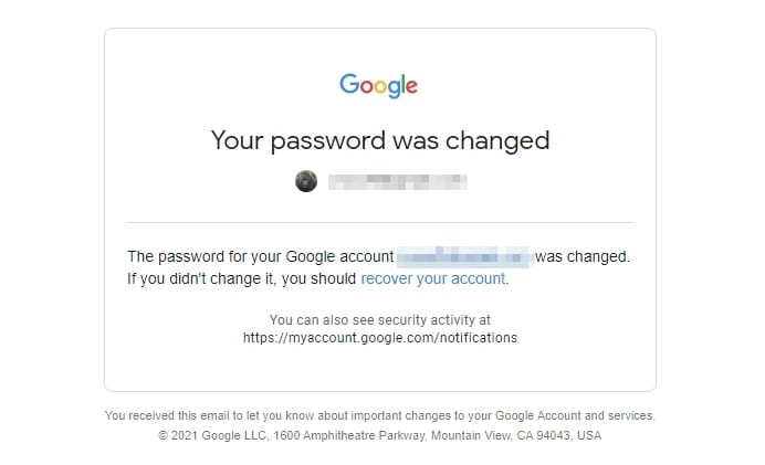 your google password has changed - How to Change Your Google Account Password 3