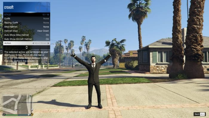 Capslock - How to Perform Emote in GTA Online PC 13