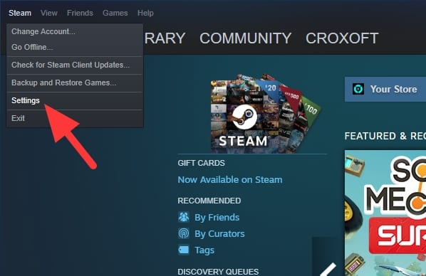 Settings 16 - How to Take Screenshot in Steam Games & Saved Automatically 5