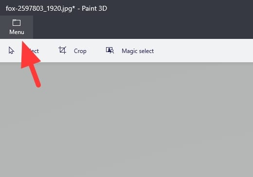 menu - How to Resize a Picture on PC Without Third-Party App 31
