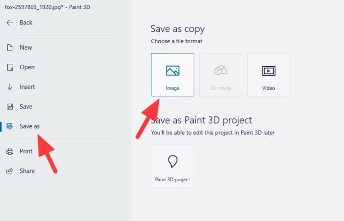 save as image - How to Resize a Picture on PC Without Third-Party App 33