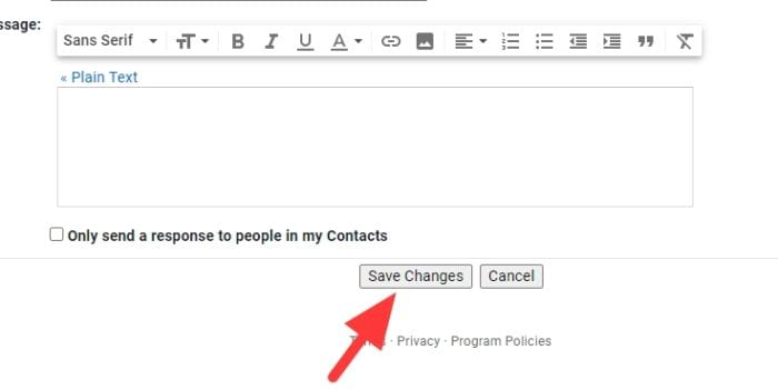 save changes 2 - How to Make a Signature at the End of Emails in Gmail 17