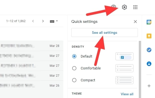 see all settings gmail - How to Make a Signature at the End of Emails in Gmail 7