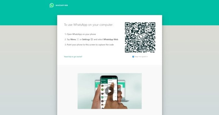 whatsapp web 1 - How to Find WhatsApp QR Code to Log in to Web/Desktop 5