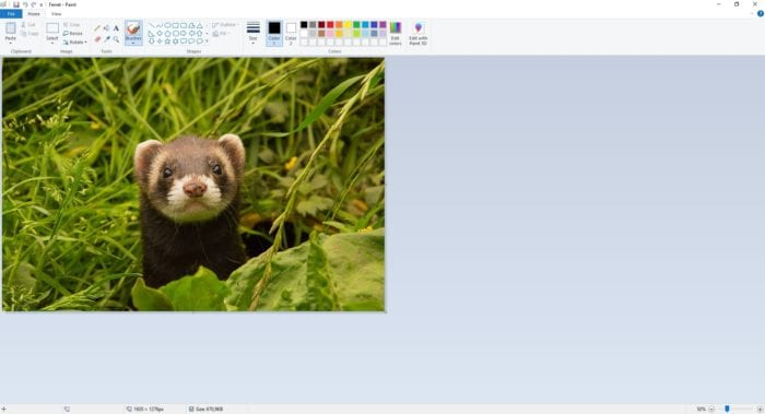 open image paint - How to Put a Transparent Image Over Another Image in Paint 5