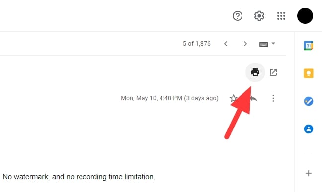 print all - How to Download Gmail Messages as PDF to Your Computer 7