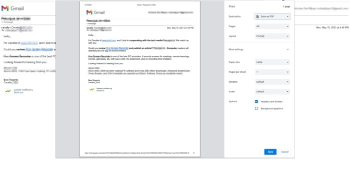 print page - How to Download Gmail Messages as PDF to Your Computer 9