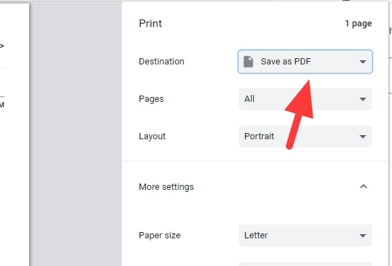 save as pdf 2 - How to Download Gmail Messages as PDF to Your Computer 11
