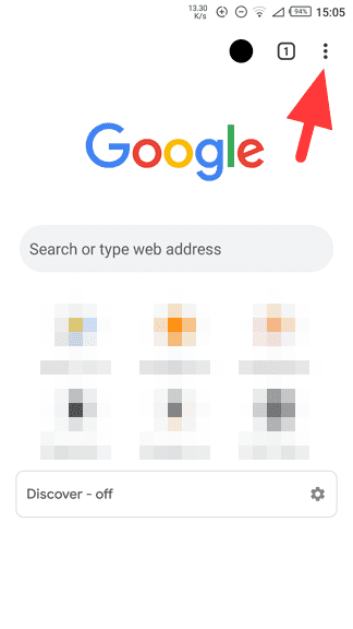Chrome icon menu - How to Disable Autocomplete Suggestions from Chrome 7