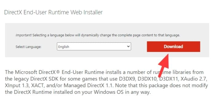 download directx runtime - How to Check What DirectX Version You Have on Your PC 11
