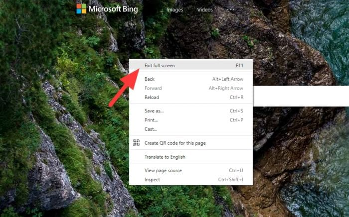 exit full screen - 4 Quick Ways to Exit Full-Screen Mode on Chrome PC 7