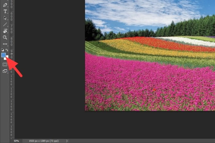 foreground color - How to Copy a Color from a Picture in Photoshop 13