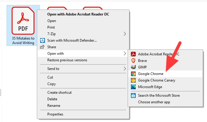 open pdf with google chrome - How to Save One Single Page of a PDF Using Chrome 3