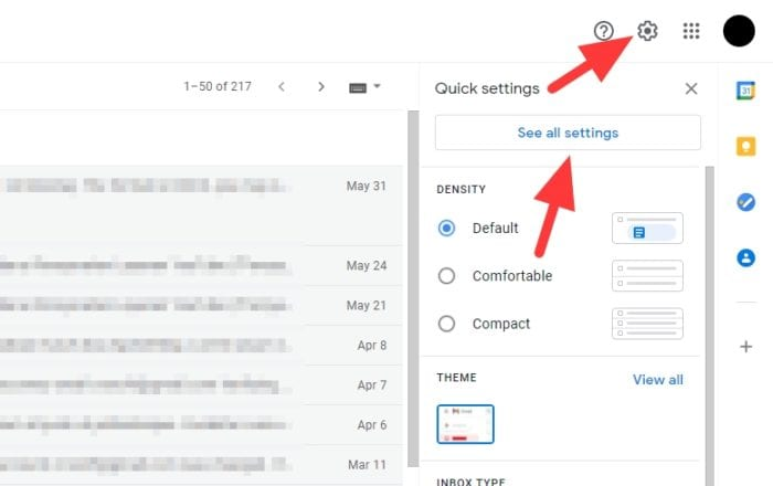 see all settings 1 - How to Auto Delete Old Emails in Gmail 7