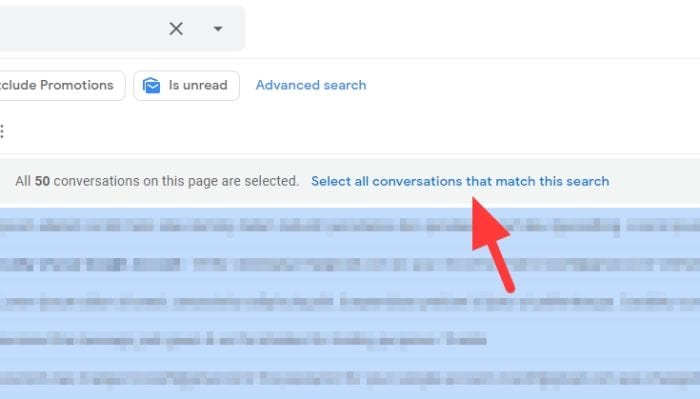 select all conversations that match this search 1 - How to Auto Delete Old Emails in Gmail 23
