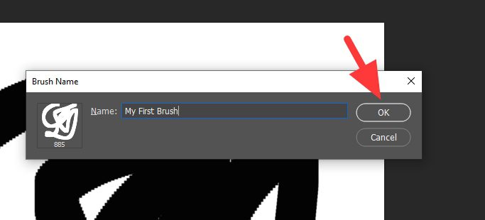 brush name - How to Create Your Own Brush in Photoshop 15