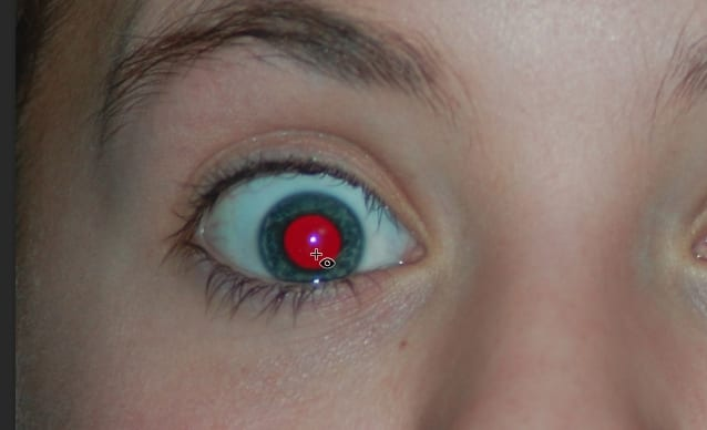 clear red eye - How to Fix Red Eyes Effect in Photos with Photoshop 11