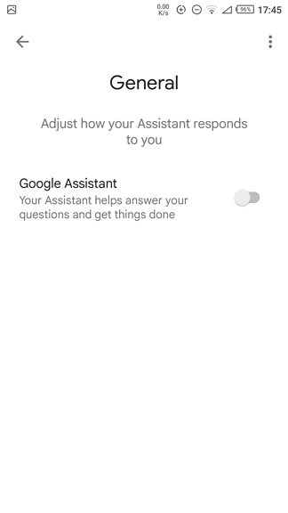 google assistant off - How to Disable Google Assistant on My Android Phone? 15