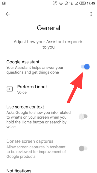 google assistant - How to Disable Google Assistant on My Android Phone? 11