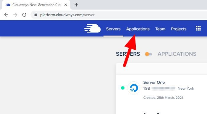 applications - How to Easily Migrate Your WordPress Website to Cloudways 5