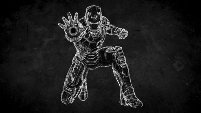 chalk effect iron man - How to Create Chalk Style on Photoshop in 2 Minutes or Less 4
