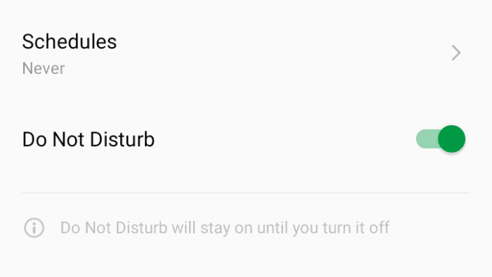 do not disturb mode - How to Block All Incoming Calls on Your Android Phone 15