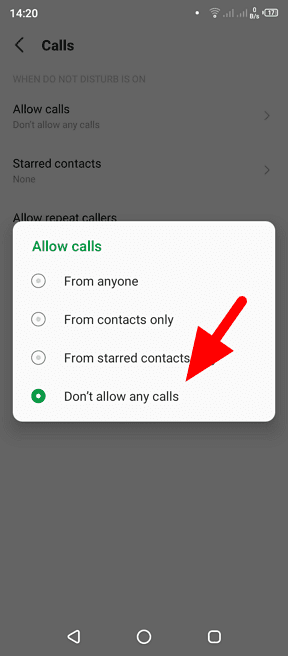 dont allow any calls - How to Block All Incoming Calls on Your Android Phone 13